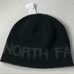 The North Face Men's Reversible Logo Knit Beanie